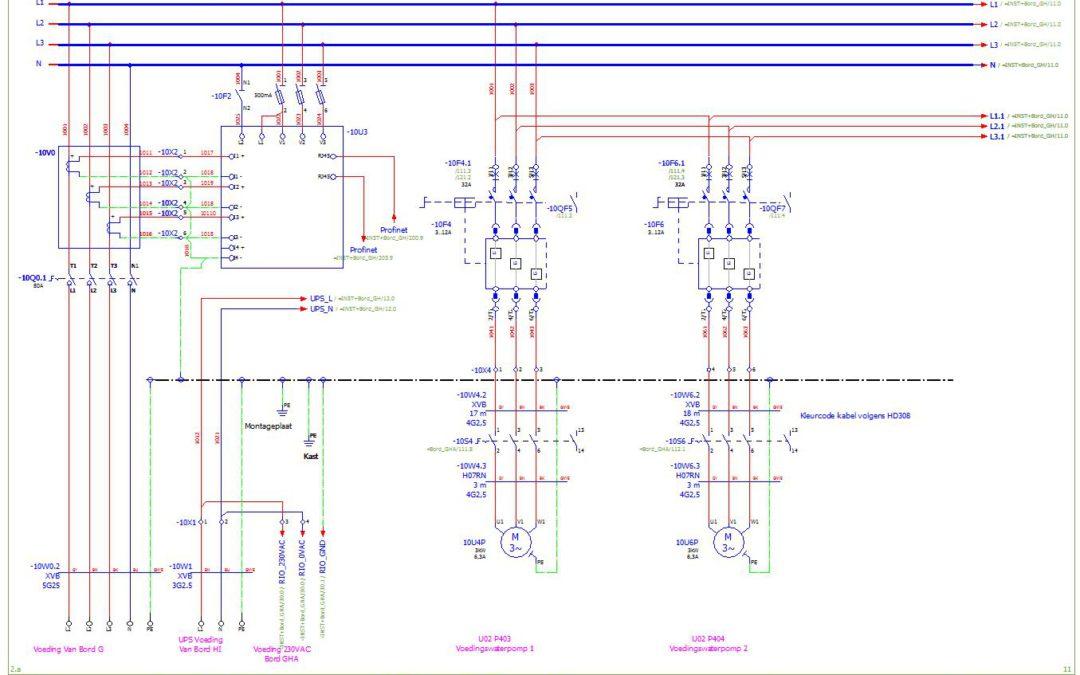 Elektrische schema's tekenen